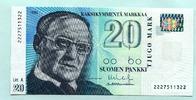 20 Markkaa 1993(1997) Finnland,  I  14,00 EUR  +  7,00 EUR shipping