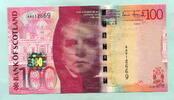 100 Pounds 2007 Schottland,  Unc  299,00 EUR  +  7,00 EUR shipping