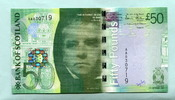 50 Pounds 2007 Schottland,  Unc  179,50 EUR  +  7,00 EUR shipping