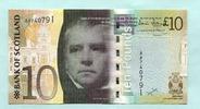 10 Pounds 2007 Schottland,  Unc  29,50 EUR  +  7,00 EUR shipping