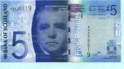 5 Pounds 2007 Schottland,  Unc  17,00 EUR  +  7,00 EUR shipping