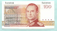 100 Francs (1986) Luxemburg,  I  9,50 EUR  +  7,00 EUR shipping
