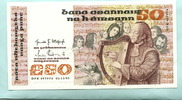 50 Pounds 1982 Irland-Republik,  I  495,00 EUR  +  7,00 EUR shipping