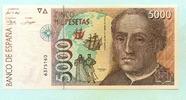 5000 Pesetas 1992(1996) Spanien,  I  80,00 EUR  +  7,00 EUR shipping