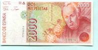 2000 Pesetas 1992 Spanien,  I  39,50 EUR  +  7,00 EUR shipping