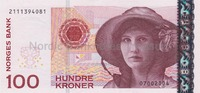 100 Kronor 2004 Norwegen,  I  22,00 EUR  +  7,00 EUR shipping