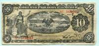 10 Pesos 1914 Mexico, Gobierno Provisional de Mexico-Veracruz, III  16,00 EUR  +  7,00 EUR shipping