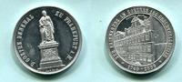 Aluminium Medaille 1899 Frankfurt, 150.Geburtstag von Goethe und Einwei... 35,00 EUR  +  7,00 EUR shipping