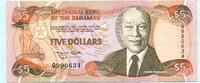 5 Dollars 1974(1995) Bahamas,  II  79,50 EUR  +  7,00 EUR shipping