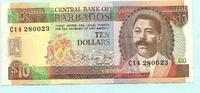 10 Dollars (1988) Barbados,  III  29,50 EUR  +  7,00 EUR shipping