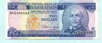 2 Dollars (1993) Barbados,  III  9,50 EUR  +  7,00 EUR shipping