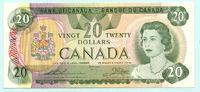 20 Dollars 1979 Kanada,  I-,  39,50 EUR  +  7,00 EUR shipping