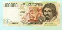 100000 Lire 1994 Italien,  II  45,00 EUR  +  7,00 EUR shipping