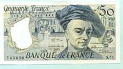 50 Francs 1992 Frankreich,  unc,  32,00 EUR  +  7,00 EUR shipping