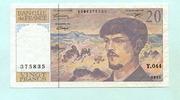 20 Francs 1993 Frankreich,  III,  6,00 EUR  +  7,00 EUR shipping