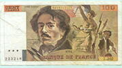 100 Francs 1991 Frankreich,  III,  12,00 EUR  +  7,00 EUR shipping