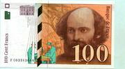 100 Francs 1997 Frankreich,  unc,  29,50 EUR  +  7,00 EUR shipping