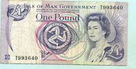 1 Pound o.J. Insel Man,  III-  5,00 EUR  +  7,00 EUR shipping