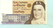 5 Pounds 1996 Irland,  I-  29,50 EUR  +  7,00 EUR shipping
