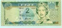 2 Dollars, (1996) Fiji,  I-II  5,00 EUR  +  7,00 EUR shipping