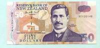 50 Dollars (1992) Neuseeland,  II  60,00 EUR  +  7,00 EUR shipping