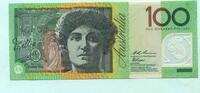 100 Dollars (1996) Australien,  I  195,00 EUR  +  7,00 EUR shipping