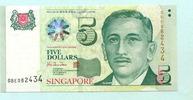 5 Dollars (1999) Singapur,  Unc  12,00 EUR  +  7,00 EUR shipping