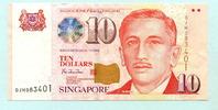 10 Dollars (1999) Singapur,  Unc  12,00 EUR  +  7,00 EUR shipping