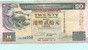 20 Dollars 1994 Hongkong,  II-  9,50 EUR  +  7,00 EUR shipping