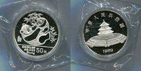50 Yuan 1989 China, 5 Unzen-Panda, PP  285,00 EUR  +  7,00 EUR shipping