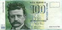100 Markkaa 1986(91) Finnland,  III+  29,50 EUR  +  7,00 EUR shipping