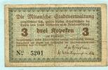 3 Kopeken 1915 Lettland/Mitau,  III-,  12,50 EUR  +  7,00 EUR shipping