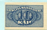10 Kapeikas 1915 Lettland,  Unc  8,00 EUR  +  7,00 EUR shipping