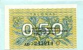 0,50 Talonas 1991 Litauen,  Unc  2,00 EUR  +  7,00 EUR shipping