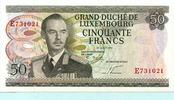 50 Francs 1972 Luxenburg,  Unc  14,50 EUR  +  7,00 EUR shipping