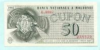 50 Cupon 1992 Moldawien,  Unc  7,00 EUR  +  7,00 EUR shipping