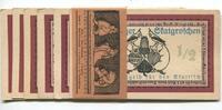 1/2 - 71/2 Groschen o.J Altenburg, Altenburger Skatgroschen, Unc  75,00 EUR  +  7,00 EUR shipping