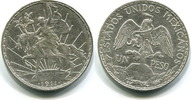 1 Peso 1911 Mexiko,  ss/vz  75,00 EUR  +  7,00 EUR shipping
