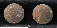 8 Gute Groschen 1758 B Altdeutschland ~ Anhalt Bernburg / Victor Friedr... 95,00 EUR