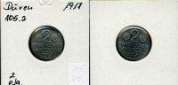 2 Pfg., 1917, Deutschland/Düren,  ss,  55,00 EUR  +  7,00 EUR shipping