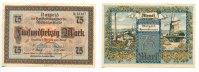 75 Mark, 1922, Memel,  I-,  119,50 EUR107,55 EUR