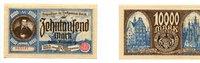 10000 Mark, 26.6.1923, Danzig,  I,  195,50 EUR160,00 EUR  +  7,00 EUR shipping
