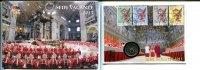 2 Euro, 2013, Vatikan, Numisbrief 2 Euro-Seda Vacante 2013, st,  89,50 EUR  +  7,00 EUR shipping