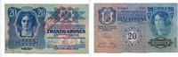 20 Kronen, 1920, Österreich, Aufdruck 4.Oktober 1920, I,  395,00 EUR
