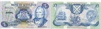 5 Pounds, 1988, Schottland,  I,  65,00 EUR  +  7,00 EUR shipping