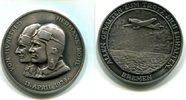 Ag.-Medaille, 1928, Deutschland, Atlantikflug der Bremen, vz,  75,00 EUR  +  7,00 EUR shipping