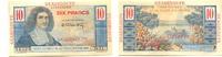 10 Francs (1947-49) Guadeloupe,  I-II  90,00 EUR
