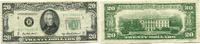 20 Dollars 1950B USA,  III  40,00 EUR