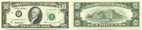 10 Dollars 1995 USA,  Unc  28,00 EUR