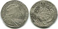 8 Groschen 1753EC Sachsen, Friedrich August II.1733-1763, f.ss  60,00 EUR  +  7,00 EUR shipping